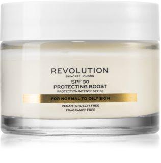 Revolution Skincare Moisture Cream hidratante para peles normais a mistas SPF 30