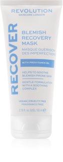 Revolution Skincare Blemish Recover maschera notte per rigenerare la pelle per pelli problematiche, acne
