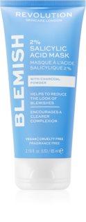 Revolution Skincare Blemish 2% Salicylic Acid почистваща маска  с 2% салицилова киселина
