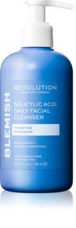 Revolution Skincare Blemish Salicylic Acid globoko čistilni gel za problematično kožo, akne