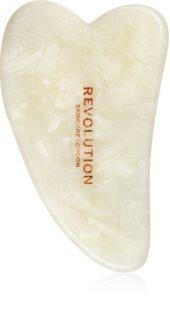 Revolution Skincare Gua Sha Jade pripomoček za masažo za obraz
