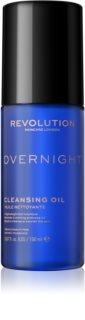 Revolution Skincare Overnight óleo de limpeza suave