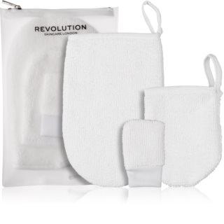 Revolution Skincare Reusable γάντι ντεμακιάζ 3 τεμ