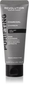 Revolution Skincare Purifying Charcoal slupovací maska proti černým tečkám s aktivním uhlím