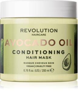 Revolution Haircare Hair Mask Avocado Hiusnaamio Ravitsevan Ja Kosteuttavan Vaikutuksen Kanssa