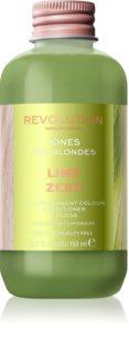 Revolution Haircare Tones For Blondes Bálsamo de tonificação para cabelo loiro e grisalho