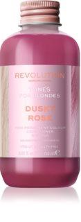 Revolution Haircare Tones For Blondes βάλσαμο με χρώμα για ξανθά μαλλιά