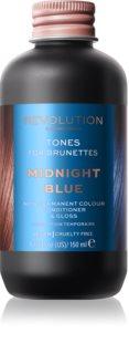 Revolution Haircare Tones For Brunettes тональний бальзам для волосся коричневих відтінків