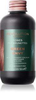 Revolution Haircare Tones For Brunettes Bálsamo de tonificação para tons castanhos de cabelo