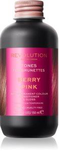 Revolution Haircare Tones For Brunettes tónovací balzam pre hnedé odtiene vlasov
