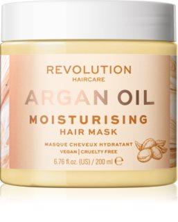 Revolution Haircare Hair Mask Argan Oil Intensiivinen Kosteuttava Ja Ravitseva Naamio Hiuksille