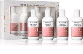 Revolution Haircare Plex Bond Restore Kit sada (pro suché a poškozené vlasy)