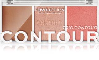 Revolution Relove Colour Play Konturier-Palette für die Wangen