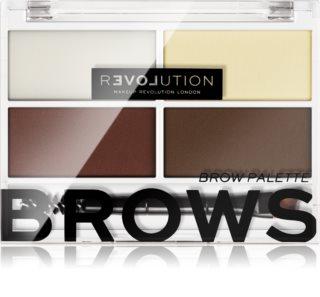 Revolution Relove Colour Cult Palette voor Wenkbrauw Make-up