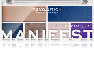 Revolution Relove Colour Play paleta očních stínů