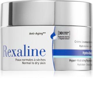 Rexaline 3D Hydra-Dose Rich hidratáló és bőrkisimító arckrém normál és száraz bőrre