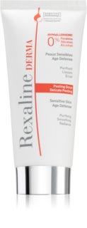 Rexaline Derma Delicate Peeling nježna enzimska krema za osjetljivu i nadraženu kožu lica