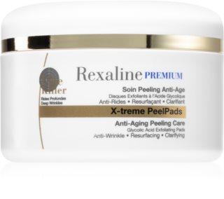Rexaline Premium Line-Killer X-treme Peel Pads discos limpiadores exfoliantes antienvejecimiento