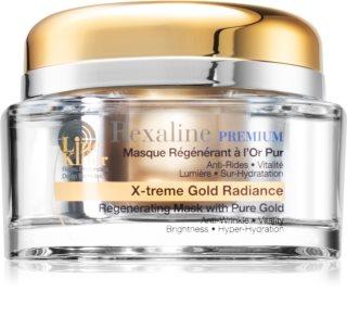 Rexaline Premium Line-Killer X-Treme Gold Radiance mélyen regeneráló maszk 24 karátos arannyal