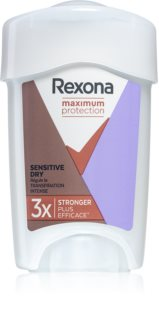 Rexona Maximum Protection Sensitive Dry antiperspirantna krema za žene