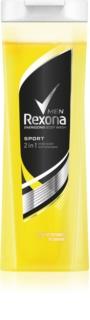 Rexona Sport gel doccia e shampoo 2 in 1