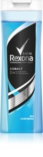 Rexona Cobalt sprchový gel a šampon 2 v 1