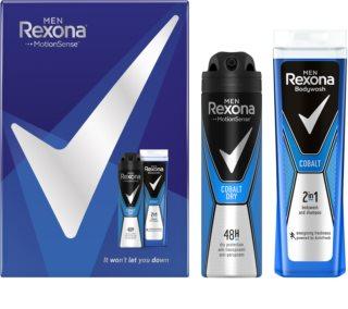 Rexona Cobalt coffret (para homens)