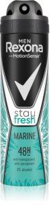 Rexona Men - nepouzivat Stay Fresh Marine spray anti-transpirant 48h