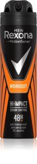 Rexona Men Workout antitranspirante em spray para homens