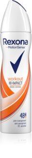 Rexona Workout Hi-Impact spray anti-transpirant 48h