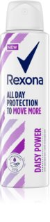 Rexona All Day Protection Daisy Power antiperspirant v spreji