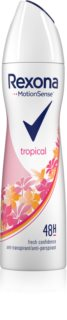 Rexona Fragrance Tropical antiperspirant v pršilu 48 ur