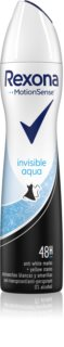 Rexona Invisible Aqua antiperspirant ve spreji
