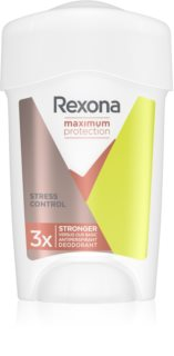 Rexona Maximum Protection Stress Control Cream Antiperspirant 48h