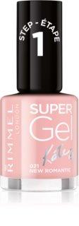 Rimmel Super Gel By Kate gélový lak na nechty bez použitia UV/LED lampy