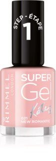 Rimmel Super Gel By Kate Gel Nail Varnish without UV/LED Sealing
