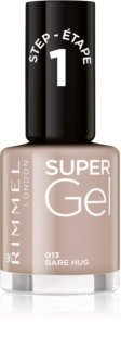 Rimmel Super Gel Step 1 Gel Nail Varnish without UV/LED Sealing