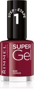 Rimmel Super Gel Nagellacksgel utan UV / LED tätning