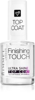 Rimmel Finishing Touch Ultra Shine Decklack für die Fingernägel für vollkommenen Schutz und intensiven Glanz