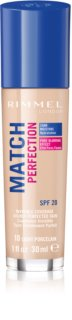 Rimmel Match Perfection υγρό μεικ απ SPF 20