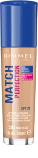 Rimmel Match Perfection fond de teint liquide SPF 20