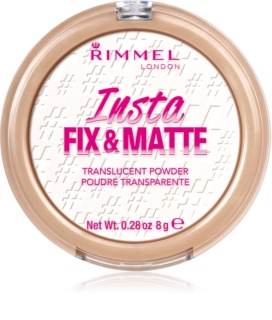 Rimmel Insta Fix & Matte Setting Powder