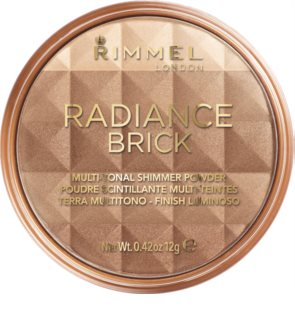 Rimmel Radiance Brick highliting Bronzer Puder