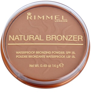Rimmel Natural Bronzer Waterproof Bronzing Powder SPF 15