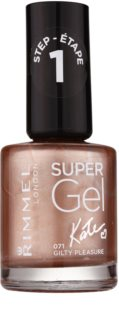 Rimmel Super Gel By Kate Gel Nail Varnish without UV/LED Sealing
