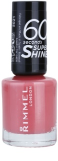 Rimmel 60 Seconds Super Shine лак для нігтів