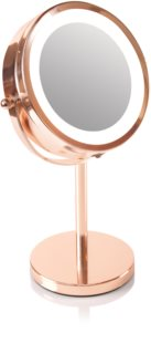 RIO Rose gold mirror make-up mirror with LED lights