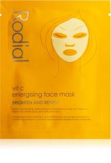 Rodial Vit C тканинна маска для освітлення та живлення шкіри з вітаміном С