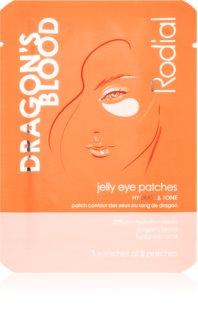 Rodial Dragon's Blood Jelly Eye Patches feuchtigkeitsspendende Gel-Maske für den Augenbereich spendet spannender Haut Feuchtigkeit