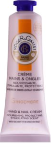 Roger & Gallet Gingembre Nourishing Hand and Nail Cream for Women